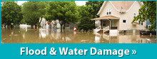 We provide solutions for water damage in Greater Fairfield County